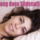 How long does Sildenafil last