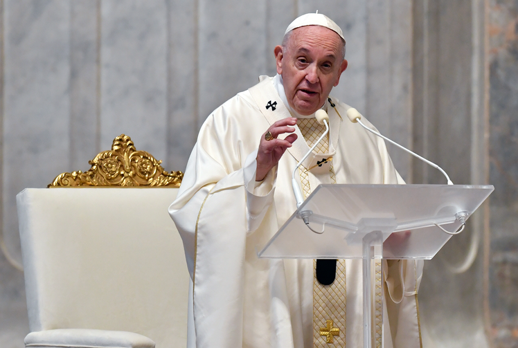 Pope Francis says the coronavirus vaccination will be spread in the world.