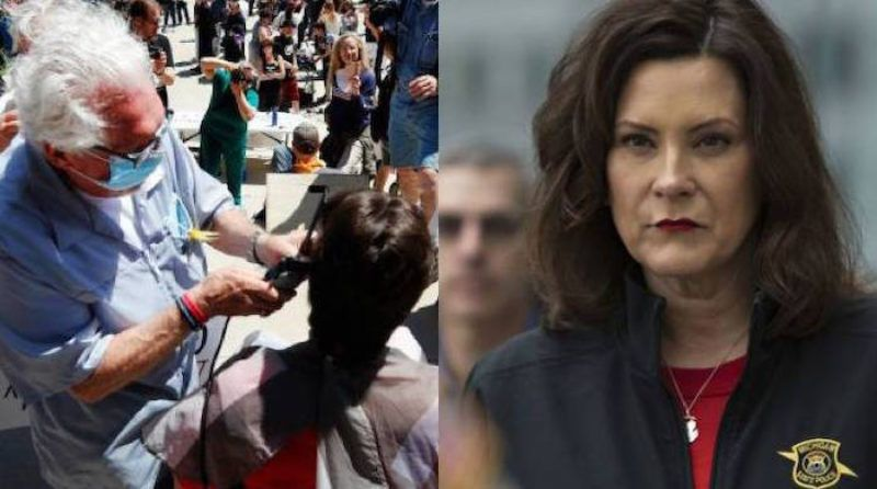 1590143835 57 Gov Whitmer LOSES Again to 77 Yr Old Barber Judge Rules Shop