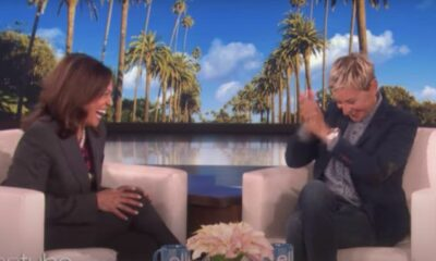 Watch: Kamala Harris and Ellen Laugh after 'Joke' on murdering Trump