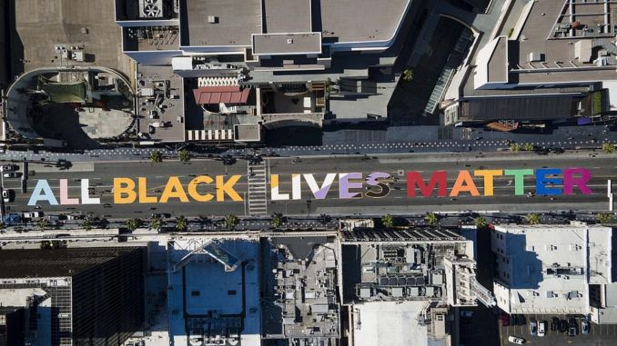 LGBT-Theme 'All Black Lives Matter' Wall To Be Hollywood Boulevard Permanent