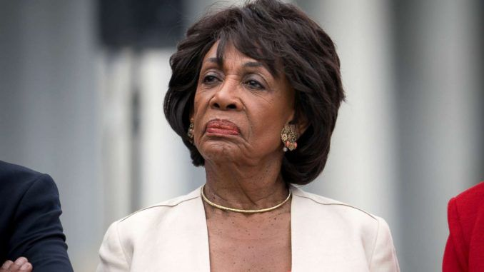 25th amendment Maxine Waters calls for trumps to be dropped from the office