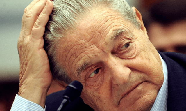 """Trump is fighting for his life,"" says George Soros, ""All to retain control"""