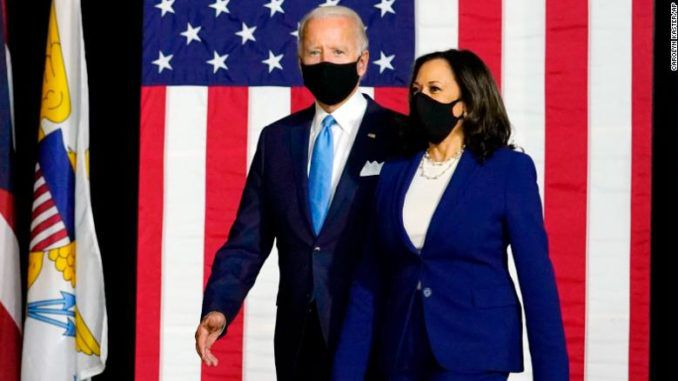 Trump says Biden wants to lock Americans with his three-month mask mandate