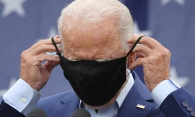 Joe Biden Wears Face Mask For An Online Interview