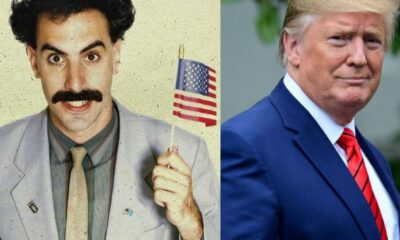 "Trump Slams Sacha Baron Cohen, branding him ""Unfunny Creep"""