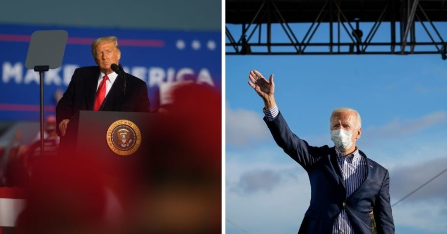 Poll: Trump and Biden in Virtual Tie Among Nevada Voters
