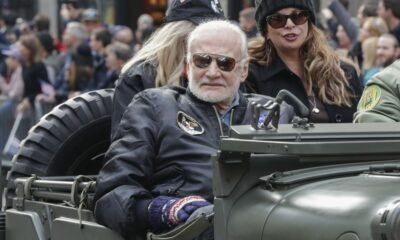 Here's the Context Behind Buzz Aldrin's 'Check Six' endorsement of Martha McSally