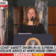 "Justice Amy Coney Barrett: ""I love the Constitution and I will do my best to protect it"""