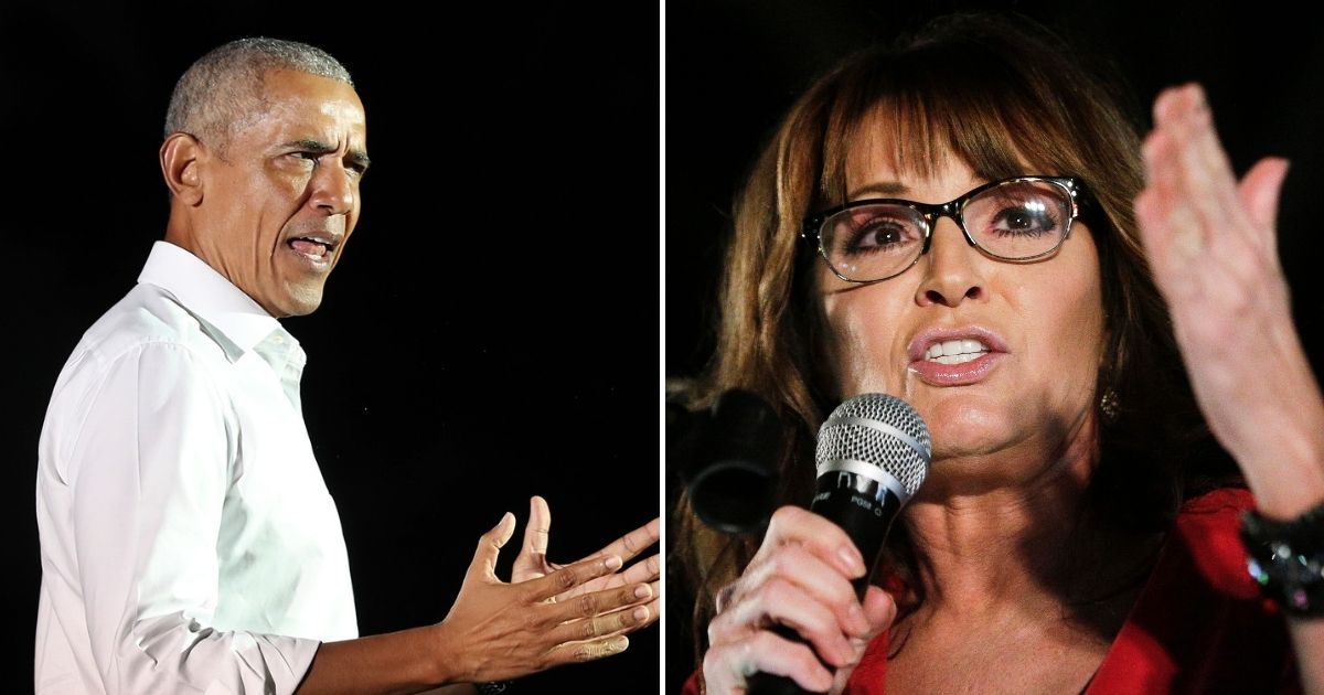 Obama's Latest Book Says Sarah Palin carried Evil Spirits to the Republican Party Base