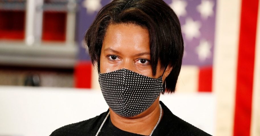 DC Mayor Says 'Nothing Scarier' than talking to people without a mask