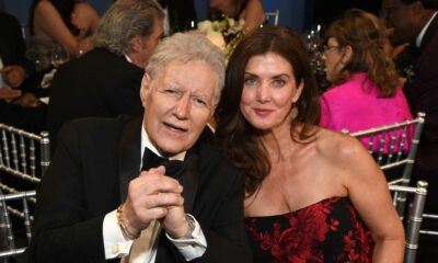 Alex Trebek's Widow Posts Wedding Shot, Thanks Fans After Husband's Move