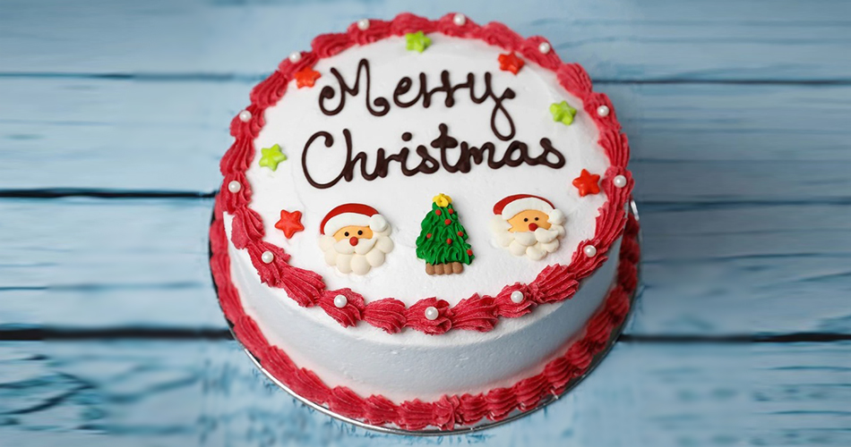 Christmas Cake Gifts With Doorstep Delivery in Oman