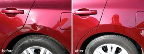 What's involved in paintless dent repair?