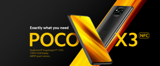 Xiaomi Poco X3 – The latest mid-range smartphone with a fast gaming processor