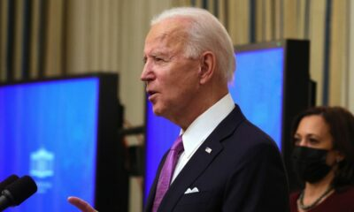 For virus briefings, Biden says he's 'bringing back the pros'