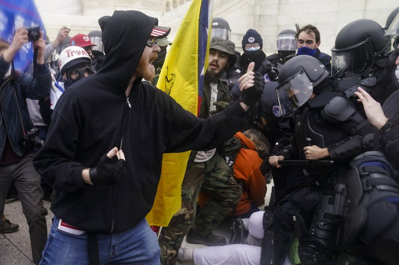 Rioters flaunt participation in the seizure of Capitol