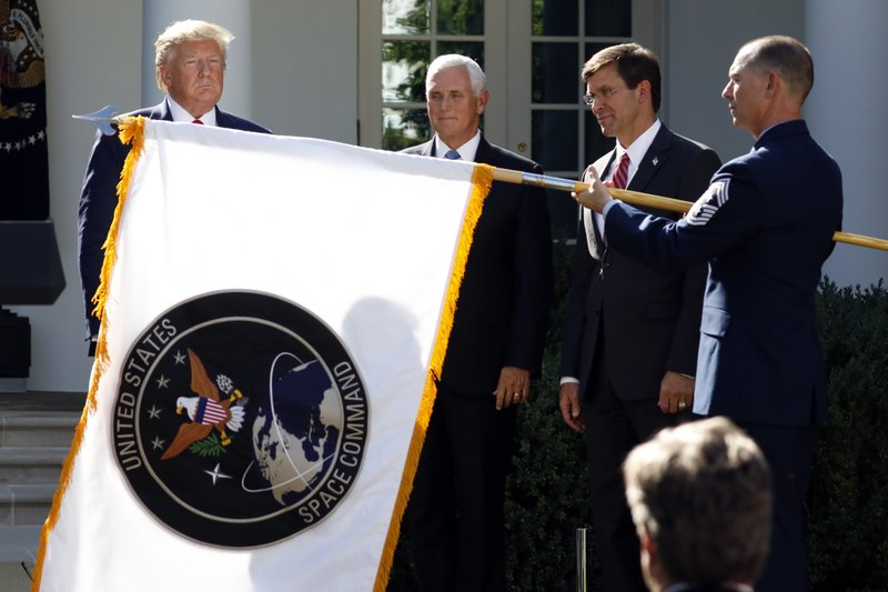 General inspector reviews Trump's Space Order relocation