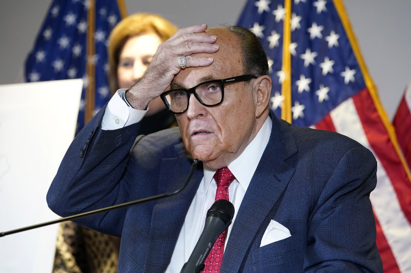 Garland faces a Giuliani investigation as he nears AG confirmation.