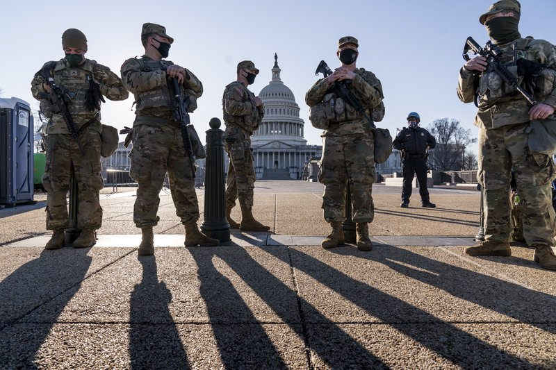 The Capitol Police Chief is pleading with the National Guard to stay.