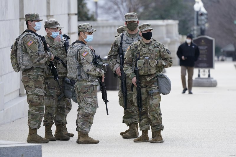 Guard at the US Capitol is being extended for another 60 days, according to police.