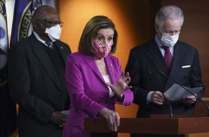 House is expected to vote on virus relief, and Biden is on the verge of a victory.
