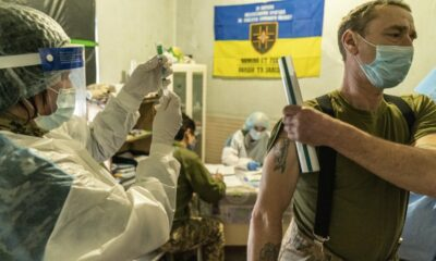 COVID-19 war in Ukraine is plagued by widespread vaccine resistance.
