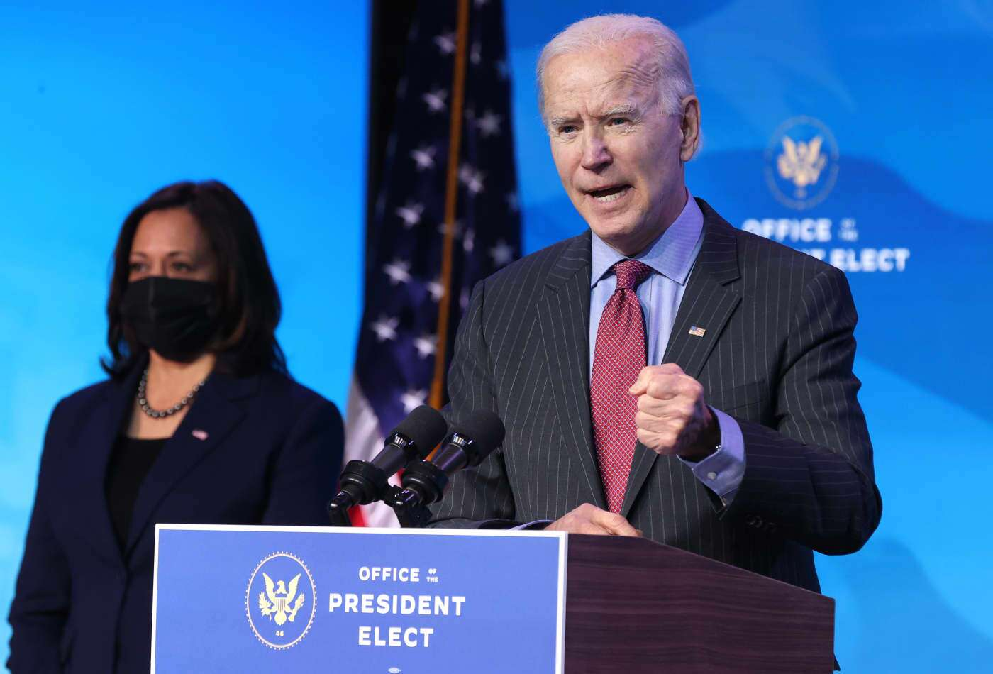 Biden, Harris, and others will support the benefits of the relief package.