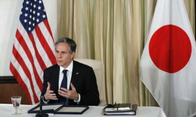 As ministers meet in Tokyo, Japan and the United States will discuss China's concerns.