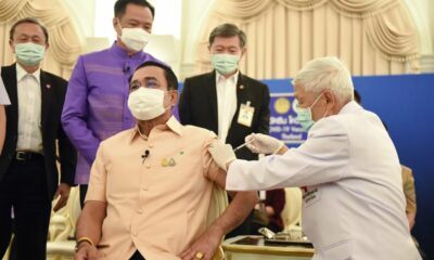 Thailand PM gets AstraZeneca jab, 1 Asian country suspends