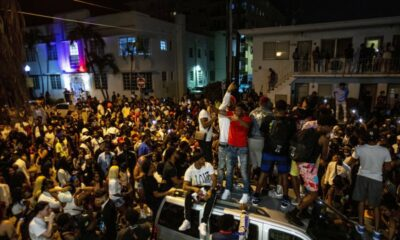 The Miami Beach curfew seeks to put a stop to Spring Break revelry.