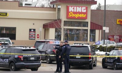 In a Colorado supermarket shooting, ten people were killed.