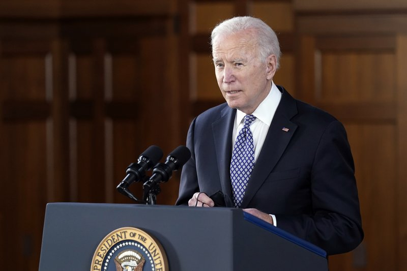 Biden is proposing a $3 trillion infrastructure, education, and family package.