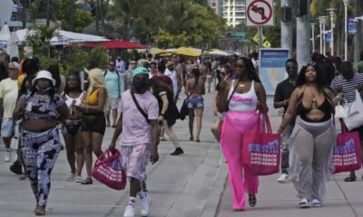 South Beach, Miami, is dealing with a terrible spring break.