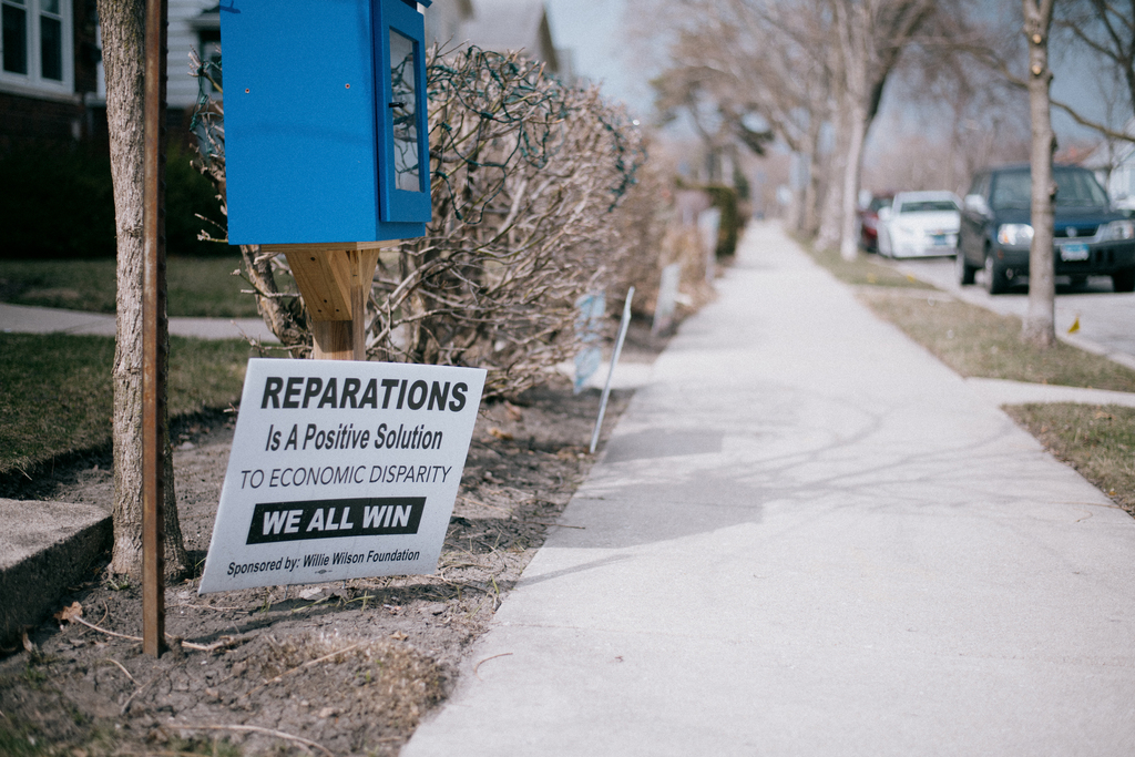 The city of Chicago becomes the first in the United States to pay reparations to African-Americans.