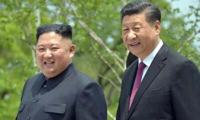 Xi and Kim exchange messages in which they reaffirm the China-North Korea alliance.