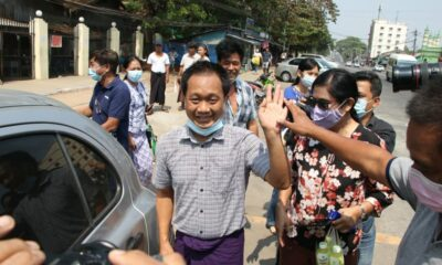 Thein Zaw, an Associated Press journalist, has been released from prison in Myanmar.