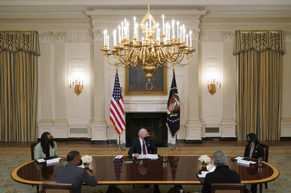 Biden White House is enforcing message restraint and refusing to hold a press conference.