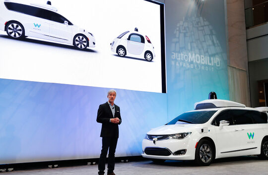 The CEO of Google's self-driving car spinoff has stepped down.