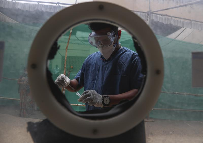 Scientists in India are racing to research variants as the number of cases increases