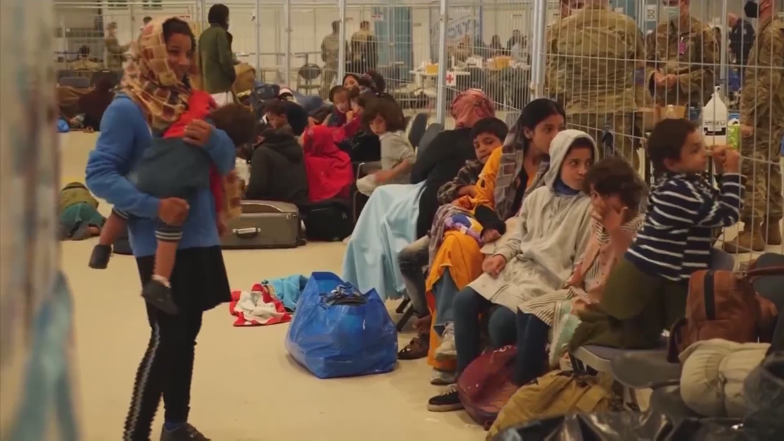 Generosity fills donation rooms as 1,400 Afghan refugees now expected
