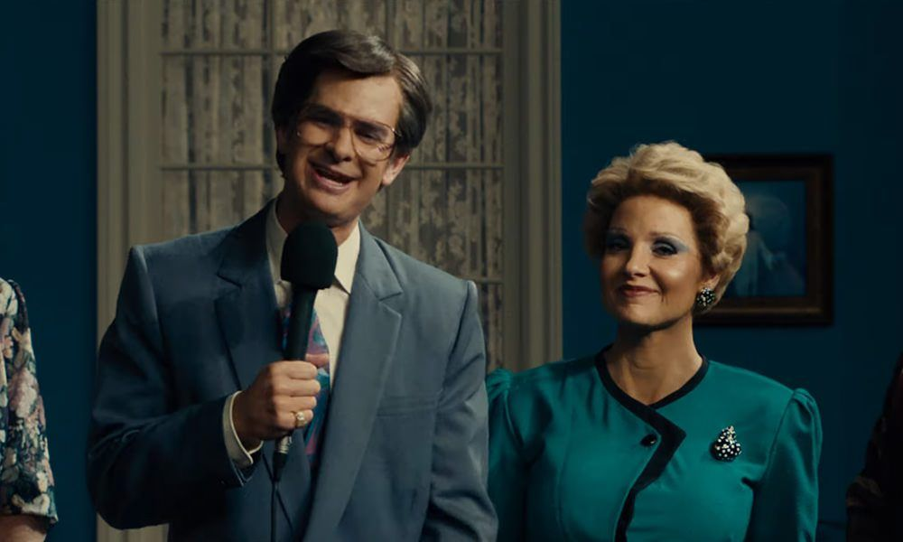 Andrew Garfield on 'The Eyes of Tammy Faye' & How Grateful He Is to No Longer Be Spider-Man
