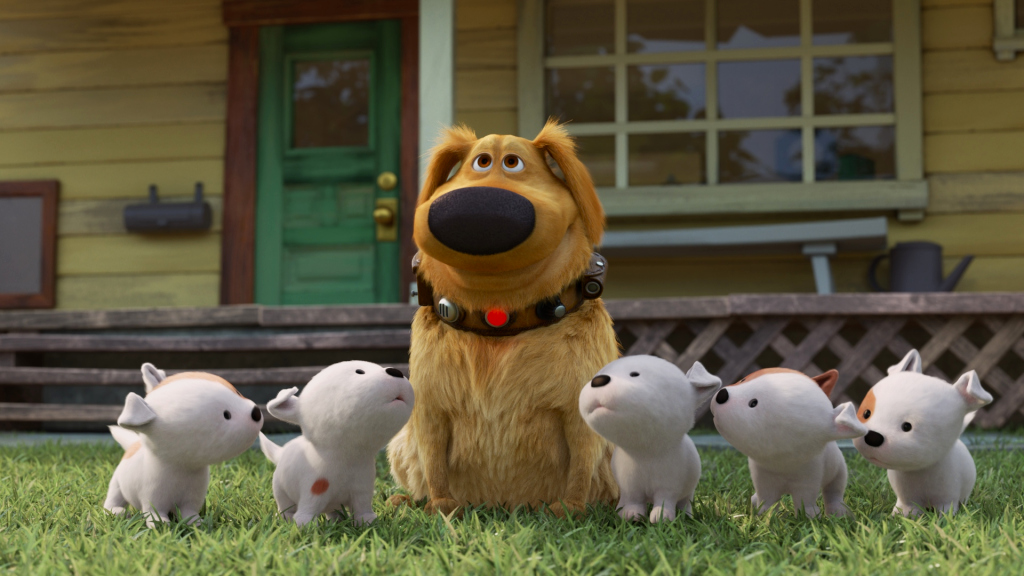 Pixar shorts ready to delight, starting with 'Up' dog Dug