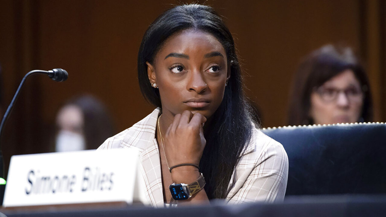 'Enough is enough': Biles tells Congress after sexual abuse as U.S. gymnast