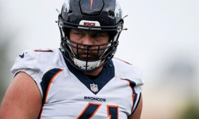 """Broncos right guard Graham Glasgow """"iffy"""" to play Sunday after irregular heartbeat"""
