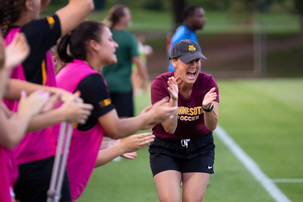 Gophers soccer off to a hot start, and Big Ten play opens with Badgers