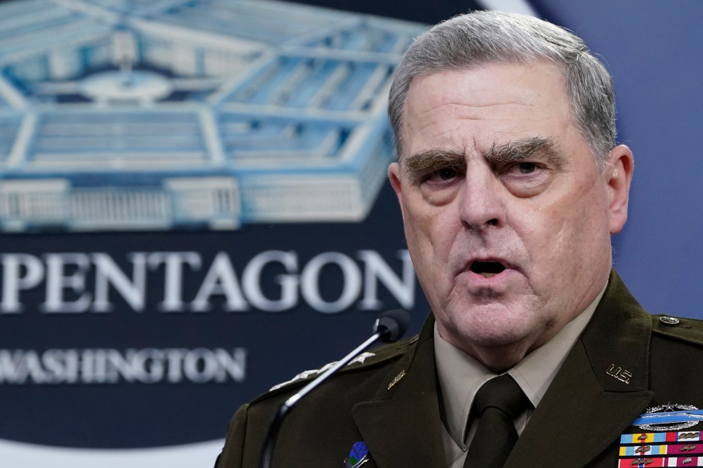 Lucas: Gen. Milley's stealth calls beg question – who's in charge?