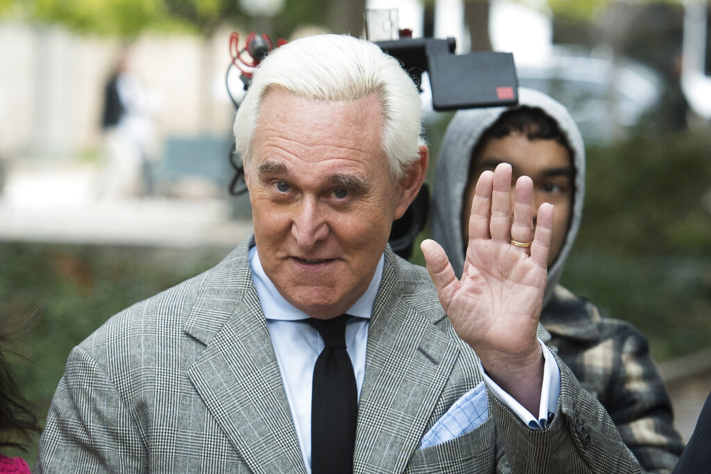 St. Louis radio interview with Roger Stone allegedly interrupted by January 6 lawsuit process server