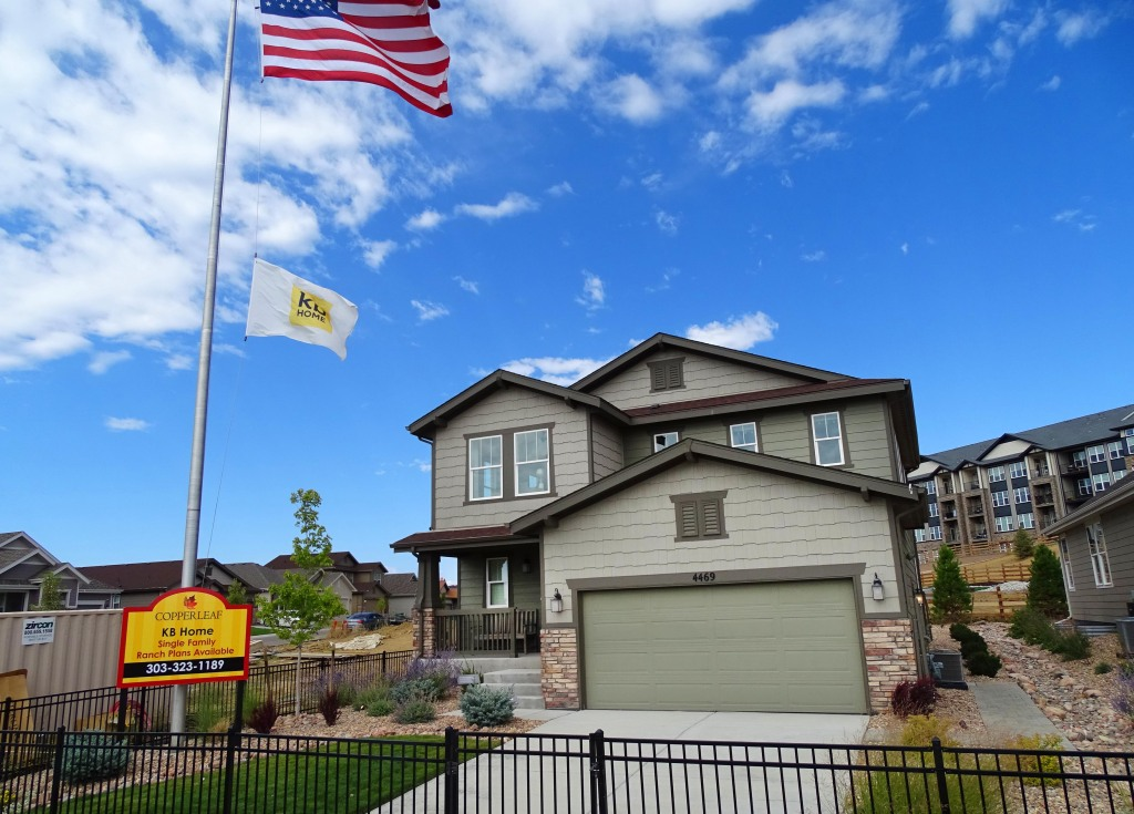 Running out of time: KB Home's Copperleaf with Cherry Creek Schools has only seven homes left, two ready for move-in now