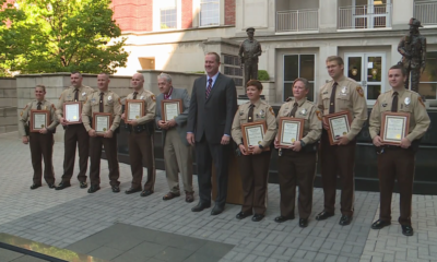 8 St. Louis County officers receive Missouri Attorney General's Back the Blue Award